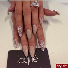 Stiletto Nails Nude <3