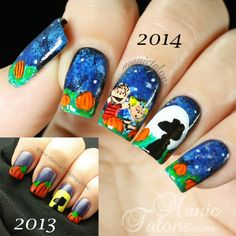 Hello Loves! There are few things more humbling than a nail art fail.  Today's nail art is certainly a fail. Last year, I created a  ...