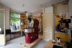the beans on fire coffee roasting collaborative kb cafe paris sprudge
