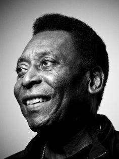 Pelé (born as Edson Arantes do Nascimento, 1940) - Photo by Simon Emmett