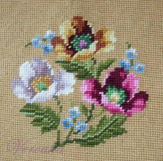 This Pin was discovered by Neş Cross Stitch Borders, Cross Stitch Rose, Cross Stitch Flowers, Cross Stitch Designs, Cross Stitching, Cross Stitch Embroidery, Hand Embroidery, Cross Stitch Patterns, Bordados Tambour
