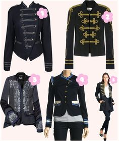 Hot 'n Sexy Military Jackets