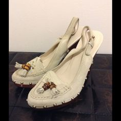 New! Authentic! Gucci Suede Clogs Size 7