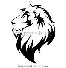 Resultado de imagen para dibujos de leones para tattoo