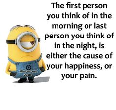 Minions Love Quotes Minion 2, Minions Love, Minion Jokes, Minion Love Quotes, Minions Quotes, Love Yourself Quotes, Madness, Funny Stuff, Wisdom