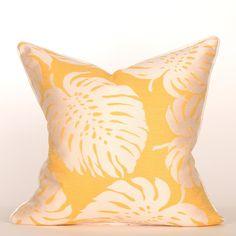 South Beach Collection Havana Banana Pillow / Outdoor