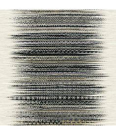 Elitis - Azzuro Vulcano Non Woven Vinyl Ταπετσαρία τοίχου Tribal Pattern Wallpaper, Striped Wallpaper, Textured Wallpaper, How To Make Curtains, Made To Measure Curtains, Embossed Wallpaper, Vinyl Wallpaper, Wallpaper Online, Wallpaper Backgrounds