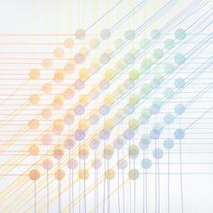 Kuutio (aktiivi) 2008, akvarelli paperille, 100x100cm