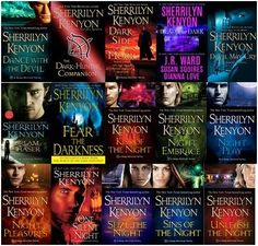 Sherrilyn Kenyon I got hooked on this series, could not put it down. Read books in a day.