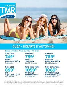 Cayo Santa Maria, Cayo Coco, Varadero, Cuba, Plan Your Trip, How To Plan, Hot, Vacation, Travel
