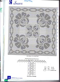 """Photo from album """"Crochet Creations Hors-serie. Special Grands Ouvrages№ 38 2007 г. Fillet Crochet, Crochet Angels, Cable Knitting, Crochet Doilies, Free Crochet, Projects To Try, Creations, Yandex Disk, Journals"""