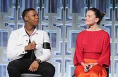Daisy Ridley Photos Photos - John Boyega and Daisy Ridley attend the Star Wars: The Last Jedi panel during the 2017 Star Wars Celebration at Orange County Convention Center on April 14, 2017 in Orlando, Florida. - 'Star Wars: The Last Jedi' Panel at the 2017 'Star Wars' Celebration