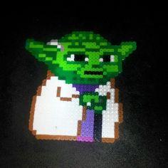 Star Wars Yoda perler beads by dustinwaynewelch
