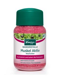 Kneipp Badekristalle Muskel Aktiv Wacholder, 500 g Kneipp http://www.amazon.de/dp/B000WNJ4Z2/ref=cm_sw_r_pi_dp_yjUivb06HNYCA