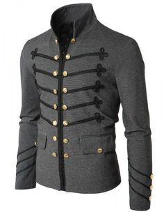 Doublju - Blazer Antique Short Jacket Compre roupas de qualidade f9efc74ca57