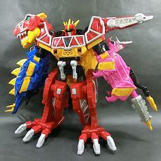 Bandai Power Rangers Dino Charge Kyoryuger DX Kyoryujin Megazord Sentai #Bandai