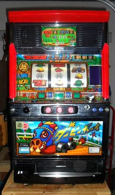 PACHISLO DERBYBOY SLOT MACHINE / 200 TOKENS / 268 PG MANUAL / ORIGINAL GLASS | Collectibles, Casino, Slots | eBay!
