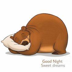 Ya me preparé para la cama . rezaré y dormiré de inmediato . I will pray and sleep immediately. Ya me preparé para la cama . rezaré y dormiré de inmediato . Chien Basset Hound, Urso Bear, Good Evening Greetings, Cute Good Night, Bear Drawing, Bear Illustration, My Teddy Bear, Tatty Teddy, Disney Infinity