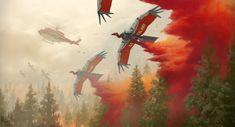 Inferno: Condor UAV's by CrazyAsian1.deviantart.com on @DeviantArt
