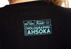 Holographic Ahsoka Funko Pop! Tee