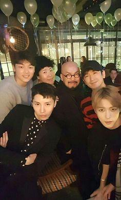 Kim Jaejoong No min woo minhyuk IG update