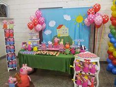 Dressed in Cloud: Peppa pig party