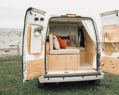 Ford Transit Connect Camper, Ford Transit Camper Conversion, Van Conversion Interior, Camper Van Conversion Diy, Van Interior, Small Camper Interior, Vw Camper Conversions, Ford Transit Campervan, Diy Van Conversions