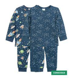 Pijamas invierno espaciales -H&M-