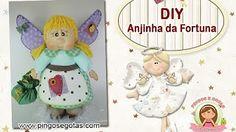 DIY FOFUCHA MAMÃE NOEL - YouTube