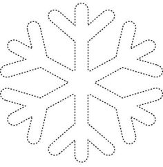 snowflake Coloring Pages snow Christmas Ornament Template, Felt Christmas Ornaments, Christmas Decorations, Snowflake Template, Snowflake Pattern, Christmas Colors, Christmas Art, Snowflake Coloring Pages, Decoration Creche
