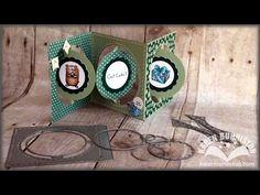 *NEW* Karen Burniston Accordion Album dies for Elizabeth Craft Designs - YouTube