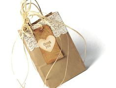 :::Decorated bag is for display only:::Set of 20 Plain Natural Kraft Paper Shopping bags with strong twisted paper handles.Square bottom stand alone for convenient packagingSize: W 5.5 x D 3.25 x H 8...