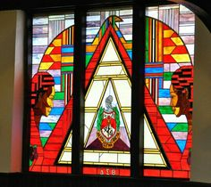The dedication of a stained-glass window in Andrew Rankin Memorial Chapel at Howard University, in honor of Delta Sigma Theta Sorority, Inc.