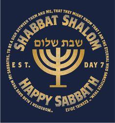 Happy Sabbath, Sabbath Day, Hebrew Greetings, Jewish Beliefs, Sabbath Quotes, Good Shabbos, Arte Judaica, Religion, Learn Hebrew