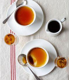 Whisky caramel crèmes - Gourmet Traveller