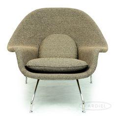 vintage knoll womb chair by eero saarinen 2 600 on chairish com