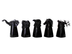 Mollaspace Black Animal Shot Glasses, $28. Welcome a wild addition to your glassware.