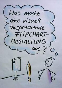 Flipchart, Flipchartgestaltung, gestalten, Flipchartbild, Visualisierung, visual notes, Flipchart-Präsentation