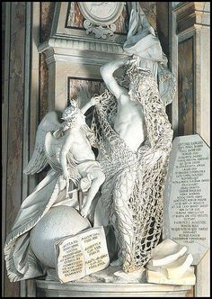 Il Disinganno, statue of a fisherman being released from a net by an angel, Francesco Queirolo, Capella San Severo, Naples...the rope fishing net is carved of a single piece of marble!