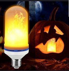 4 X Coloré Magnétique Magic DEL light Bulb Bright maison intérieur cadeau décoration