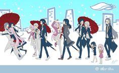 K Project - Hakumaitou Silver Clan timeline by Miyukiko on DeviantArt K Project, Missing Kings, Manhwa, Return Of Kings, Pokemon Eeveelutions, Anime Artwork, Bungo Stray Dogs, Boy Art, Anime Shows