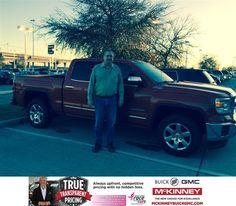 https://flic.kr/p/BtCWu8   Happy Anniversary to John on your #GMC #Sierra 1500 from Brett Stein at McKinney Buick GMC!   deliverymaxx.com/DealerReviews.aspx?DealerCode=ZAKC