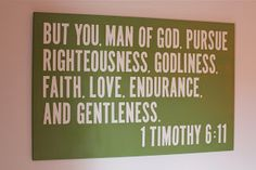 Love this verse and love this idea -- want to do this for the boy's room
