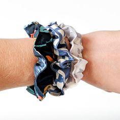 Fabric Scrap Busting Series: Hair Bows and Scrunchies | Grainline Studio