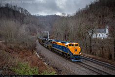 RailPictures.Net Photo: NS 1071 Norfolk Southern EMD SD70ACe at Switchback, West Virginia by Samuel Phillips