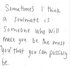 Soulmate quote