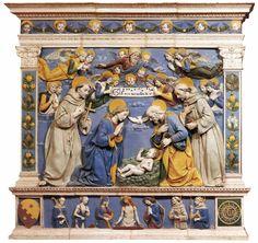 Nativity and the Christ in Sepulchre, Santa Maria degli Angeli, La Verna