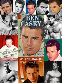 """Vince Edwards (July 9, 1928 — March 11, 1996) was born Vincent Edward Zoino in Brooklyn, New York, to Italian immigrant parents. He was an American actor, director, and singer, best known for the roles of TV doctor """"Ben Casey"""", and Maj. Cliff Bricker in the 1968 war film The Devil's Brigade. Although he had major or lead roles in several films, it was not until he was featured in the title character on the highly successful Ben Casey TV series (1961 to 1966, ABC) that he achieved major…"""
