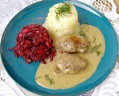W Mojej Kuchni Lubię.. : szybkowar-policzki wieprzowe w sosie cebulowym... Mashed Potatoes, Cooker, Meat, Chicken, Dinner, Ethnic Recipes, Food, Author, Whipped Potatoes