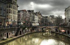De Oude Gracht, Utrecht, the Netherlands